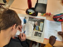 6A Project Kranten in de Klas